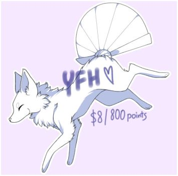 Running Foxfan YCH [PAYPAL/POINTS OPEN] by chocowhiskers