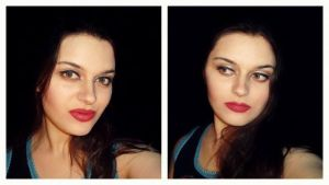 Angelina Jolie make-up transformation by L-Justine