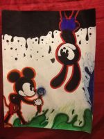 Epic mickey by Skele-Bros