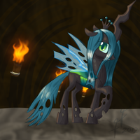Queen of the changelings by FunnyFany