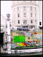 where universes exists side by side / Wien by MushroomBrain