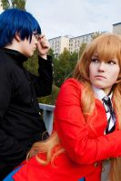 TORADORA - Why people hesitate by Bitenshi
