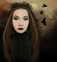 Gothic Girl by PlacidAnemia