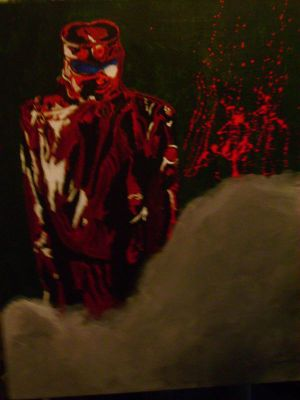 The Repo Man Painting by Mossepajamas