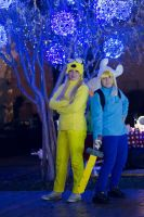 Finn and Jake - Merry Christmas ! by Sweepzebrine