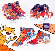 Fox sneaker by Bobsmade