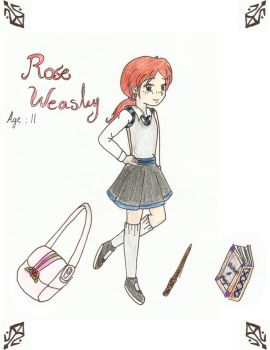 Rose Weasley by AlbusPotter