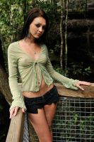 Tara - sheer green 6 by wildplaces