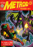 Metroid Comic Cover by MichaelJLarson