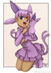 Espeon_human_fourm by seviperrocks