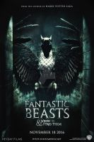 Fantastic Beasts and Where to Find Them - Poster by HogwartSite
