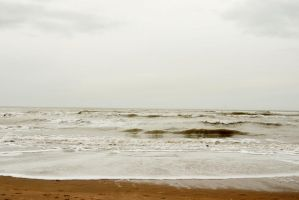 North Sea beach 3 by steppelandstock
