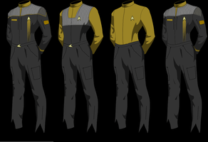 Epsilon Force Uniforms Type 2 by Wolfcrest1701