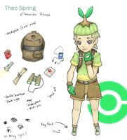 Theo spring character sheet by mono22chrome