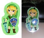 Majora's Mask Link: Phone charm/Keyring by Blue-Fayt