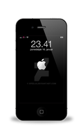 Animated iOS 5 Boot Logo for Lockscreen by spedja