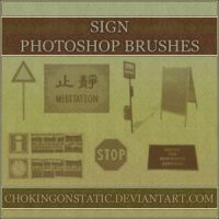 sign brushes by chokingonstatic