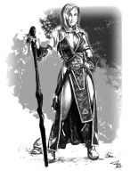 Red Sorceress by pasztel