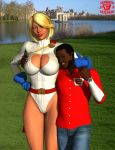 My Photo with Power Girl by ImfamousE