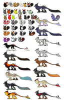 Massive Dorokami Adopt Sheet (All 1$/delta!) by Leopra