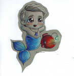 The little cannibal mermaid by frozen-cherries