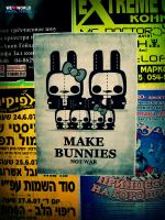Make bunnies, not war by WEHEARTWORLD
