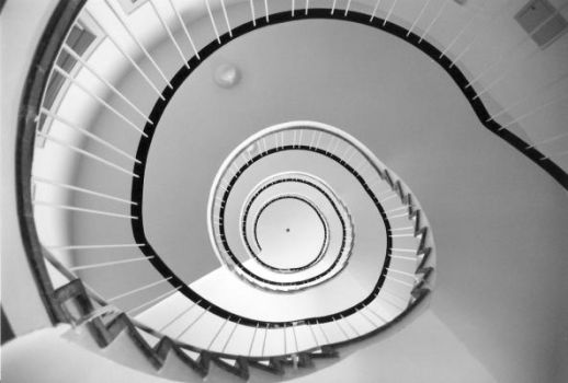 further up the spiral by nebucadnezar