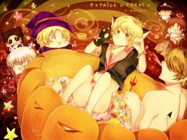 APH: Halloween 2011 by RuminE
