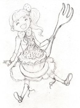 Sweet! Sketch by MeiMei-KaiTen