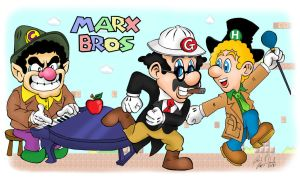Marx Brothers Mash-up Tribute by DanDav87
