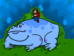 Lickin toads by ThePoliwrath