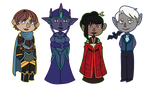 AA: More Leader chibis by vampire-chicken