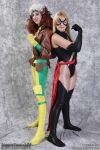 Rogue and Ms Marvel by EccentricCasey