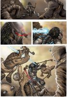 Predator Vs Sand people by THECOOLGEEK