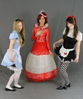 Alice (s) and the red queen 3 by MajesticStock