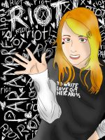 Hayley Williams Animitized by furubanimenrock