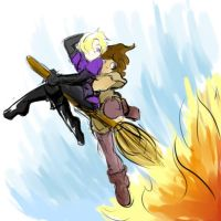 Ride That Broomstick by AnihyrMoonstar