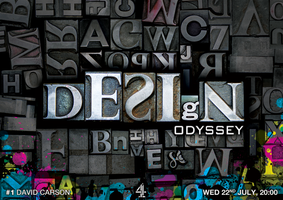 Design Odyssey Postcard Test 1 by rbryant