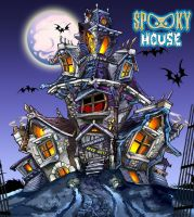 Spooky House by muttleymark