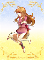 Commission : Horo by bibi-chan