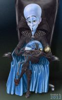 Megamind with brainbot (pre-version) by eleathyra