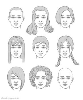 Women's hairstyles by JeffSearle