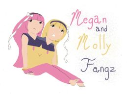 Megan and Molly Fangz by TheMagnificentMorado
