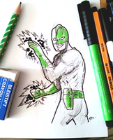 DSC 2015-08-26 Captain Mar-Vell by theEyZmaster