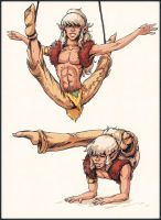 Elf Quest's Cutter's Contortion Skills by Yuni
