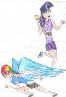 Track Stars by FreedRose