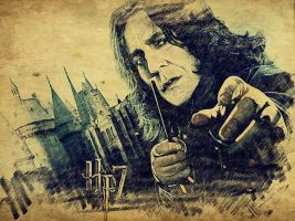 Severus Snape by TheLittleMermaid1809