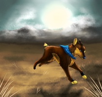 Running away - AT with Speckelpelt!! by Afna2ooo