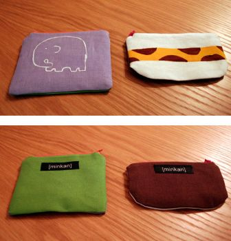 two new pouches. by minkan