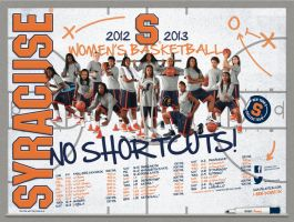syracuse women's bball by Satansgoalie